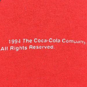 Coca Cola Shirts - 1994 CocaCola All Over Print Graphic Single Stitch